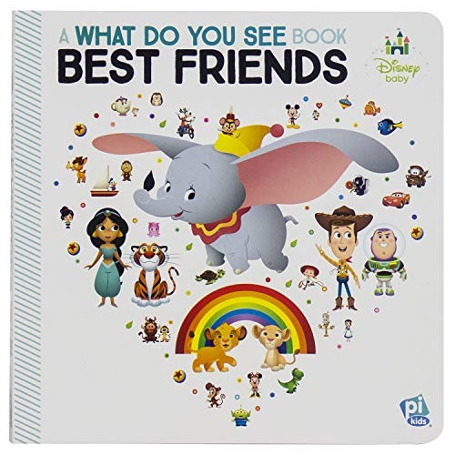Disney Baby Toy Story, Lion King, and More! - Best Friends: A What Do You See Book - PI Kids