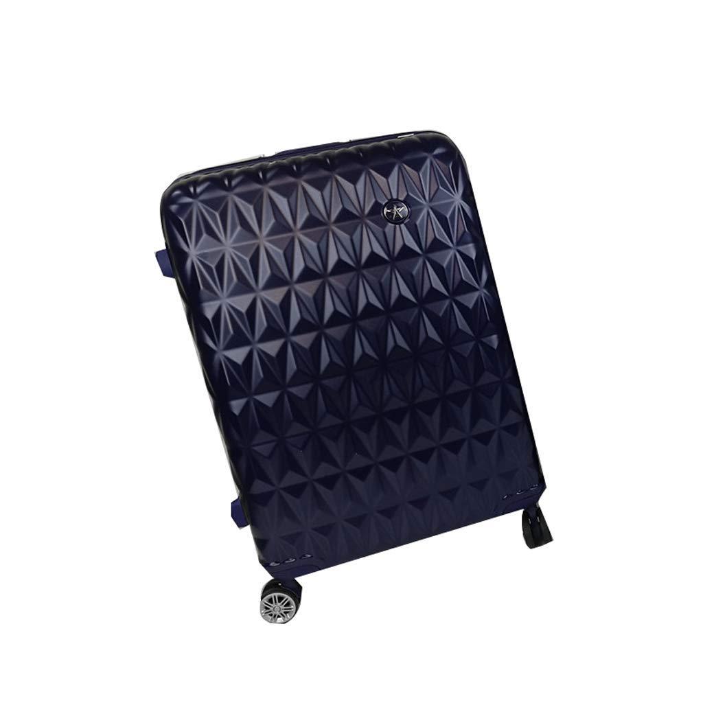 荷物、超軽量フルトランスペアレントスーツケースユニバーサルホイール搭乗シャーシトロリーケースパスワードボックス (サイズ さいず : 45x28x75cm)   B07JLH3LKC