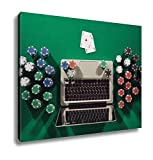 Ashley Canvas, Online Poker Game App Concept, Home Decoration Office, Ready to Hang, 20x25, AG6430465