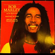 """Waiting In Vain & Blackman Redemption / Marley 4 Track Mix Up - Bob Marley and the Wailers - UK Pressing [12"""" Vinyl Maxi Single]"""