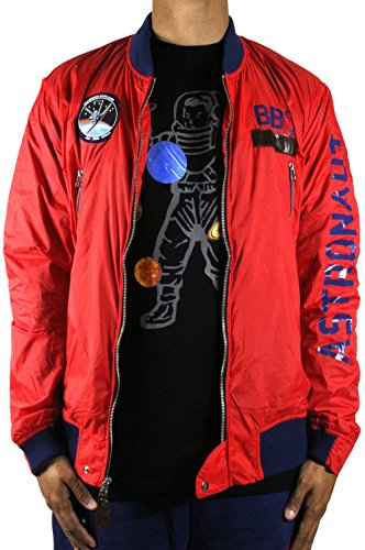 Billionaire Boys Club Jacket (B BOYS CLUB Billionaire Boys Club Canaveral Jacket Small Red)
