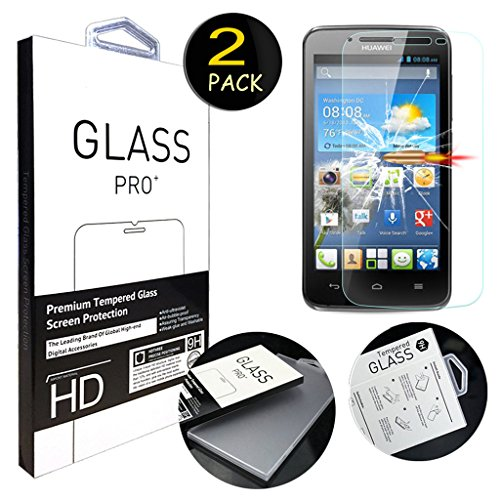 Tempered Glass For Huawei Y511 (Clear) - 2