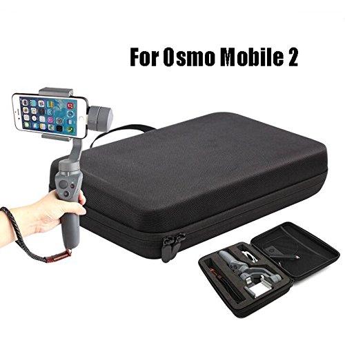 Anbee Hardshell Housse de transport sac d'é paule Boî te de rangement pour camé ra de cardan portable DJI Osmo Mobile 2