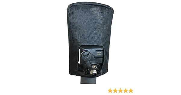 Estuche de cubierta de suciedad para caja de control Minelab Equinox 600 800 (negro): Amazon.es: Electrónica