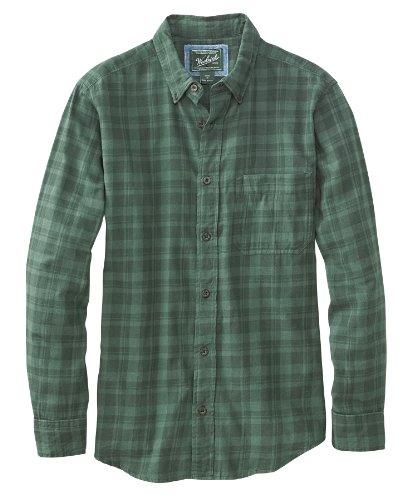 Woolrich Men's High Season Flannel Shirt (Tonal Evergreen) - 2xL ()