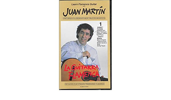 Amazon Com Learn Flamenco Guitar With Juan Martin 3 Part Series Of