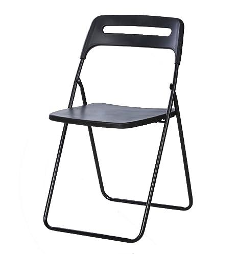 Sedie Pieghevoli In Plastica.Sedia Pieghevole Dormitorio Per Studenti Domestici Semplice Sedie