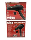 Wigo Europe Turbo Ionic 1875 Watt Dryer w/ Variable Ion Dial