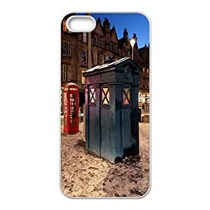 Police box Police call box phone Case Cover for iPhone 5/5S Cases RCX043526