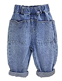 Kidscool Space 4 Big Pockets Both Side Toddler Casual Soft Cotton Jeans