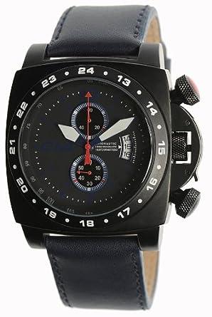 Carbon 14 Herren-Armbanduhr Chronograph blau A1.1
