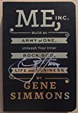 #3: Gene Simmons KISS signed Book Me, Inc. Signed on Cover 1st Printing