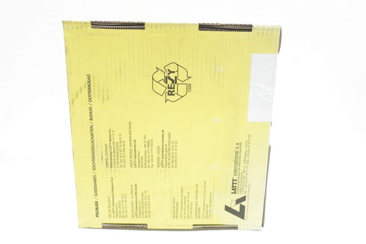 LATTY INTERNATIONAL 6940EF LATTYGRAF Braided Graphite 30FT 1/2IN Packing D655559: Amazon.com: Industrial & Scientific