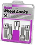 McGard 28174 Chrome Bolt Style Radius Seat Lock Bolt Set