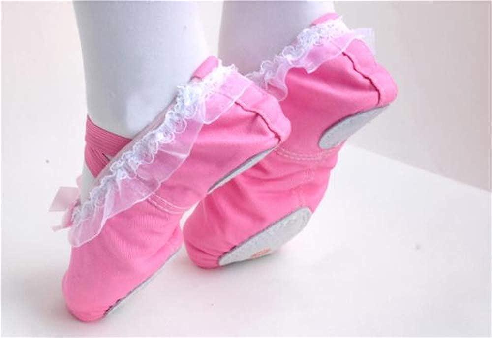YSNJL Kids Lucky Ballet Flat Pink 2-EU 33//1.5 M US Little Kid
