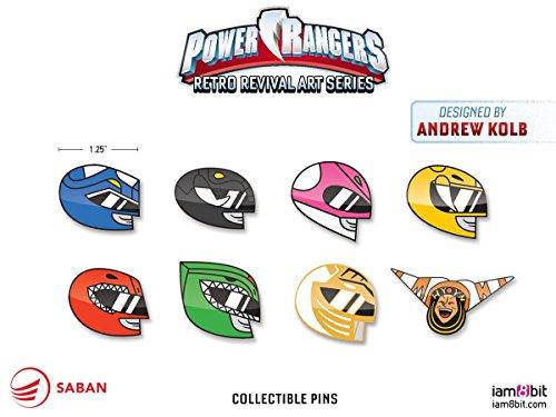 iam8bit Power Rangers Full Pin Set