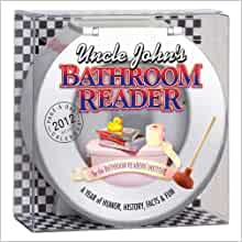 Uncle John S Bathroom Reader 2012 Calendar Bathroom