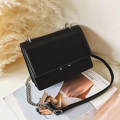 Liu Black Borsa Black Donna A colore Tracolla Quadrata Piccola Da ffHrwq