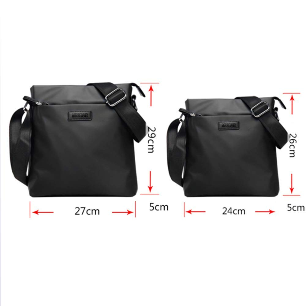 Canvas College Travel Bag,Wear-Resistant JCXBW Men Shoulder Bag Work and Every Day Use Waterproof,Crossbody Satchel with Shoulder Strap for Travel