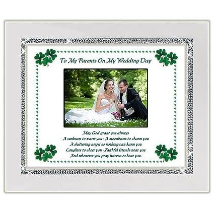 Amazon.com - Wedding Gift For Parents of the Bride or Groom - Irish ...