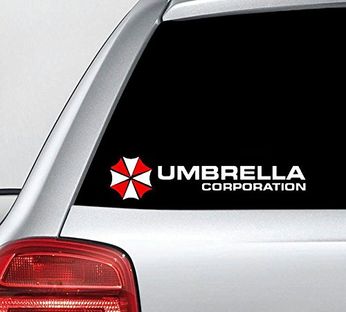 Resident Evil Umbrella Corporation Vinyl Decal Stickers 10 X 4