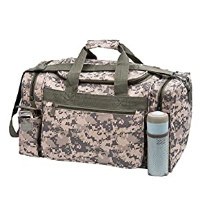 "Travel ACU Duffel Bag Camouflage Duffle Gym Bag, Luggage, Tote 18"" (CAMO - 18"")"