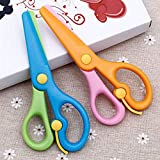 LovesTown Preschool Training Scissors,4Pcs Children