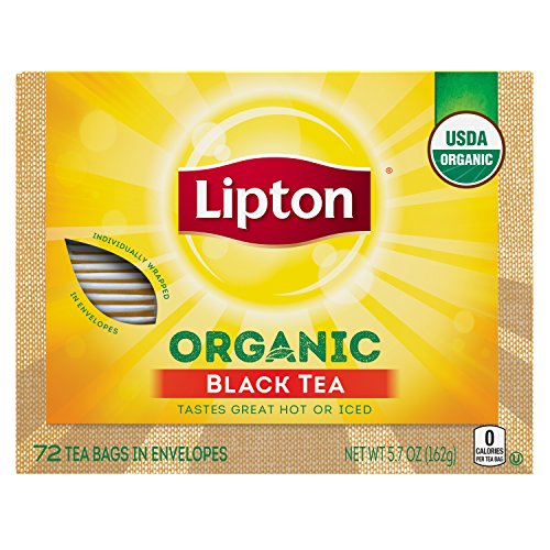 Lipton Black Tea Bags, Organic, 72 ct (Tea Tea Black Highland)