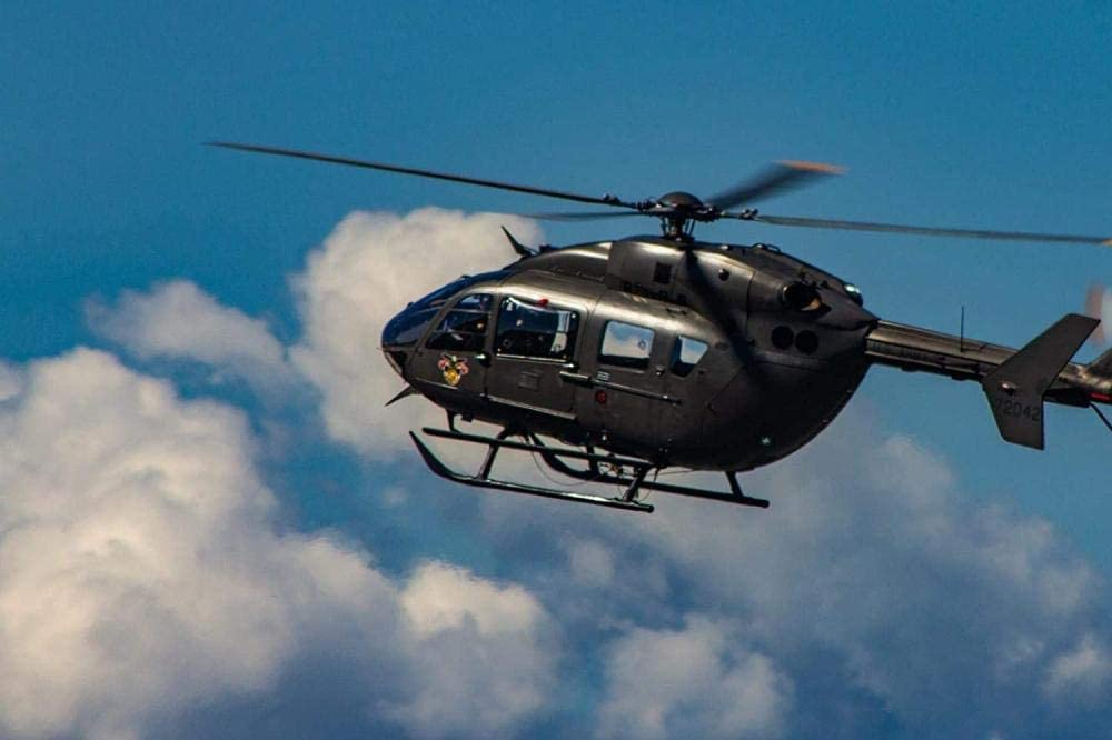 Zhy Nuevo Helicóptero Negro 1000 Piezas Rompecabezas de Madera de Personalidad Cuadro Cuadrado Completo Adornos de Juguete de Bricolaje para Adultos se Pueden Recoger