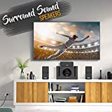 5.1 Channel Home Theater Speaker System - 300W
