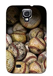 Storydnrmue PVWFxt-989-YvlFm Case Cover Galaxy S4 Protective Case Baseballs( Best Gift For Friends)