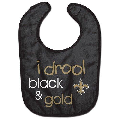 New Orleans Saints Drool All Pro Baby Bib