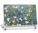 GelaSkins Protective Skin for Smaller Netbooks 8.4 x 5.5 Inches (Almond Branches)