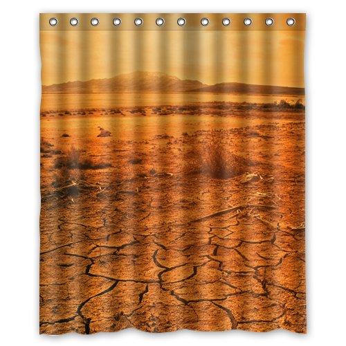 Desert Wallpaper.jpeg Shower Curtain 60 x 72 Inch Bathroom
