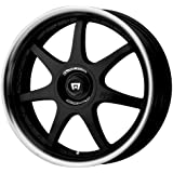 """Motegi Racing FF7 Gloss Black Wheel With Clearcoat (18x7.5""""/5x100, 114.3mm, +45mm offset)"""