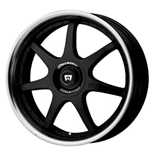 "Motegi Racing FF7 Gloss Black Wheel With Clearcoat (18x7.5""/4x100, 114.3mm, +45mm offset)"