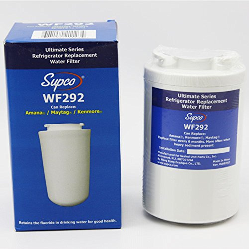 12527304, WF401, WF30, WF40 and WF401T Alternative Replacement Refrigerator Water Filter Cartridge by EcoAqua