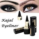 Oksale Makeup Eyes Pencil Longwear Black Gel Eye Liner Stickers Eyeliner Wateroroof (Black)