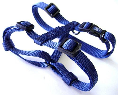 Hamilton Adjustable Comfort Nylon Dog Harness, Navy Blue, 1