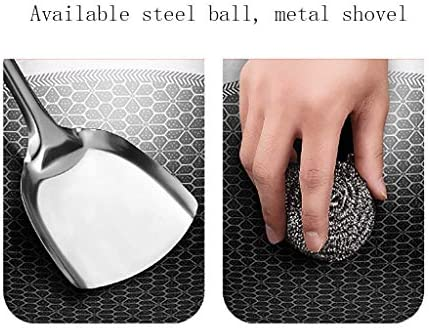 SJYDQ Indicateur de chaleur antiadhésif for lave-vaisselle Four Four Batterie de cuisine (Size : 28 * 6cm)