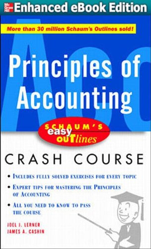 Schaum's Easy Outlines of Accounting