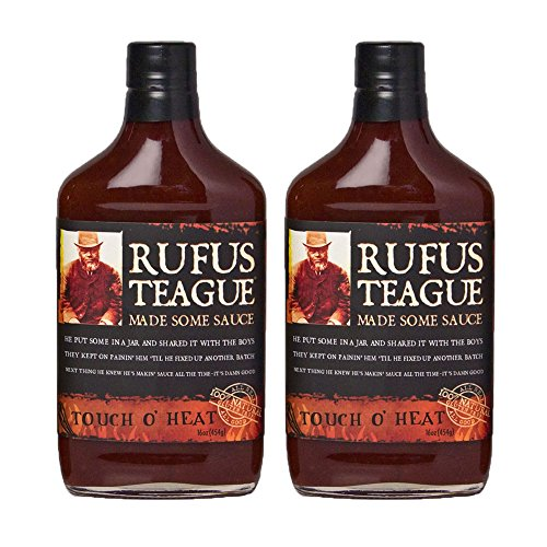 Rufus Teague's Award Winning BBQ Sauces - OU Kosher - Touch