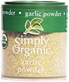 Simply Organic, Mini Garlic Powder.92 oz