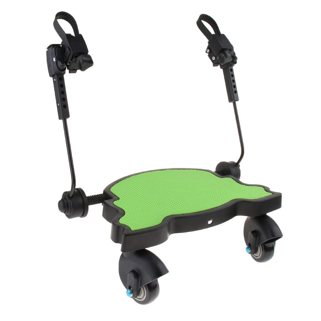 Baoblaze Universal Board Pushchair//Stroller//Buggy Step Board as described Up To 25kg Green