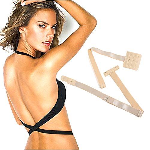 Low Back Bra Strap Converter Extender 3 Hook For Women Low Back - Bra Back Converter