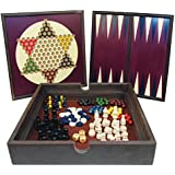 5-in-1 Wooden Game Set