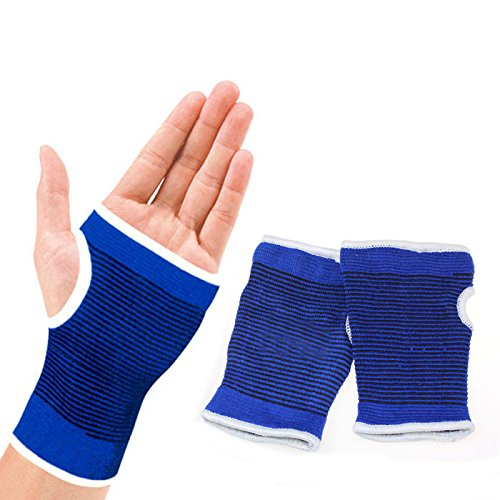 Chinahope Sport Safety Support Wrist Gloves Hand Palm Gear Protector Elastic Brace Gym Sports