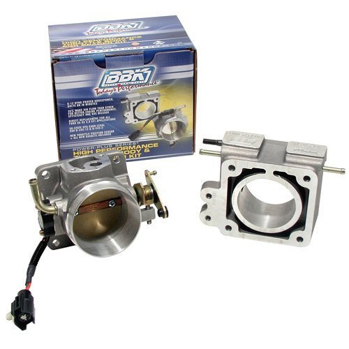 BBK 1600 75mm Throttle Body And EGR Spacer Plate Kit - High Flow Power Plus Series for Ford Mustang 5.0L by BBK Performance