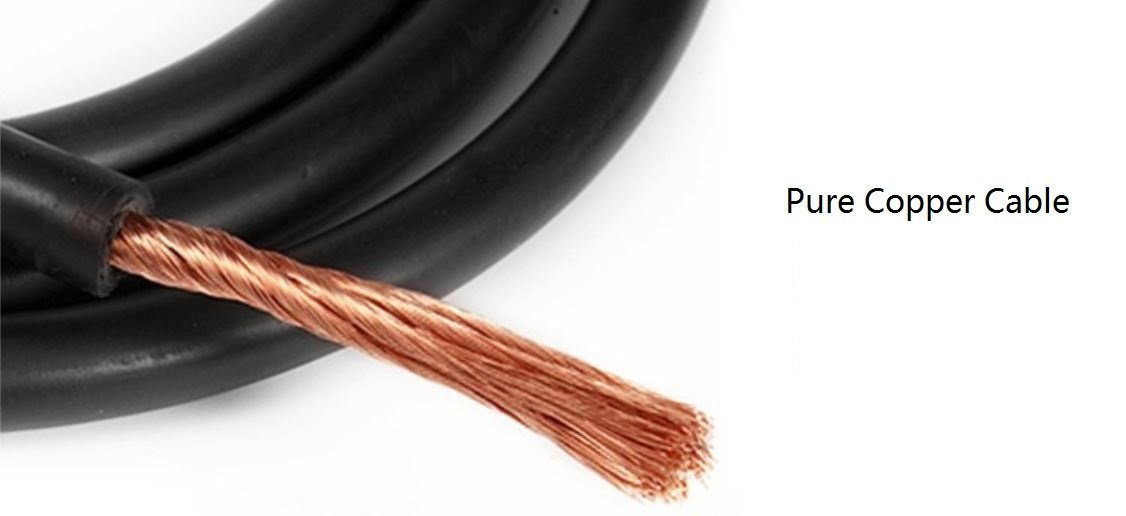 Welding Leadset 3m 16sqmm Copper Wires DKJ35-50 Connector 160//200//250A ARC Stick//MMA Welding Cable Welding Electrode Holder Cable Set