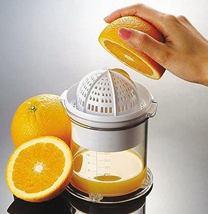 My-Gastro Manual Exprimidor Naranja Prensa L Prensa Limones Naranjas Zumo Licuadora con depósito
